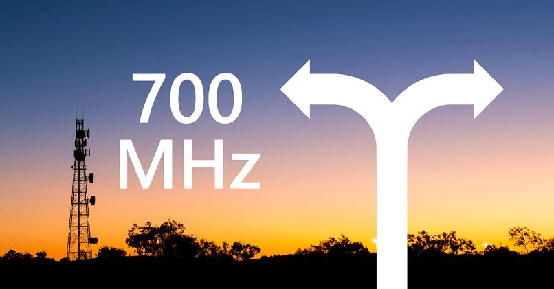 Frecuencia 700 MHz
